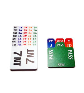 High Quality Plastic Bidding Cards pictures & photos