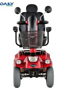 Comfortable 24V 800W 4 Wheels Mobility Scooter for Handicapped pictures & photos