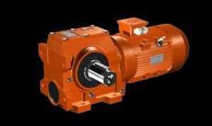 Helical Gear-Worm Wheel Gearbox (SC37-167)