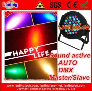 RGB Indoor LED PAR36 DMX Light for Disco pictures & photos