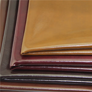 2017 China Factory Bonded PVC Leather for Furniture pictures & photos