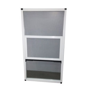 Powder Coating White P50 Aluminium Screen Window pictures & photos