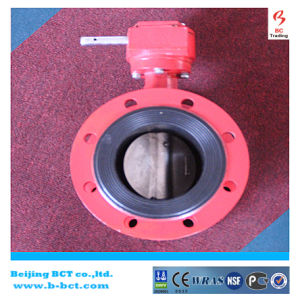 High Performance Clamp Butterfly Valve For Fire Fighting BCT-GBFV-1 pictures & photos