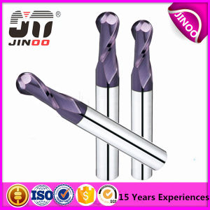 Jingnuo Manufacture 4 Flute Solid Carbide Ball Cutter Tool pictures & photos