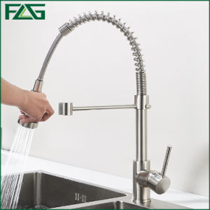 Flg Chrome Kitchen Pull out Luxury Faucet/Tap/Mixer pictures & photos
