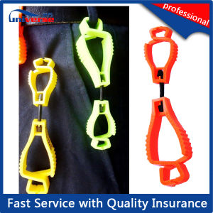 Free Sample Offered POM Plastic Clip Safety Glove Guard pictures & photos