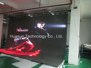 LED Video Curtain Soft LED Screen Mobile LED Screen Panel Rent pictures & photos
