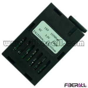 1*9 Fiber Optical Transceiver 155Mbps Bidi 20km Sc 3.3V pictures & photos