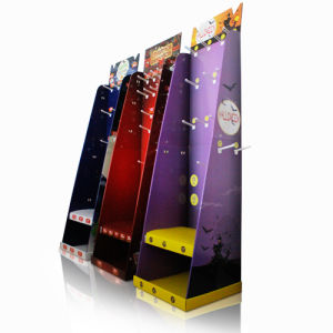 Pop Cardboard Standing Floor Display Units, POS Corrugated Store Rack pictures & photos