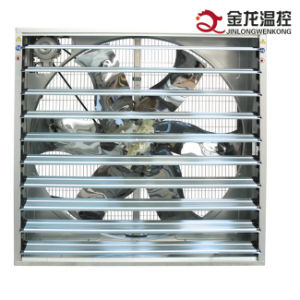Poultry Automatic Shutter Ventilation Exhaust Fan / Wall Mounted Poultry Exhaust Fan with Shutter pictures & photos
