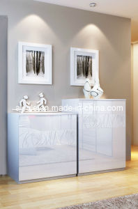 2013 The Latest Milan Series Bedroom Furniture Set Wooden Cabinet Chest of Drawer (DG1205-7)