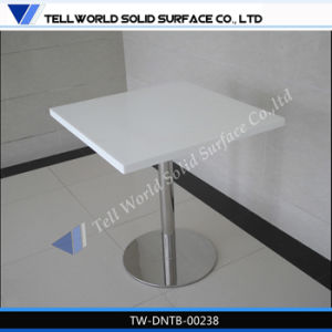Stainless Steel Table Base Artificial Marble Restaurant Table pictures & photos