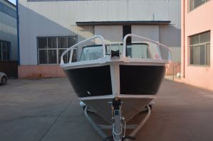 Hot Sale 5m Bowrider Welded Aluminum Fishing Boat pictures & photos