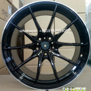 19inch Aluminum Car Wheel Alloy Rims Staggered Wheel Rims pictures & photos