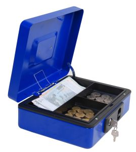 Cash Money Box with Removable Cash Tray pictures & photos