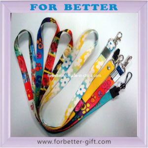 Heat Transfer Printing Lanyard-1 pictures & photos