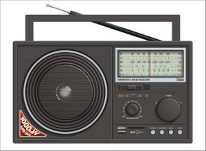 FM/AM/SW1-2 4 Band Radio MP3 Player (BW-7350)