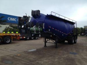 Cimc 30 Cbm Concrete Semi Trailer with Bogie Suspension Truck Chassis pictures & photos