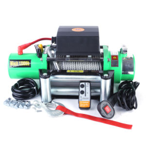 12000lb 4WD Winches with Full Steel Gears (SC12.0X) pictures & photos