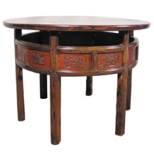 Both Carved Table (BGZC-021)