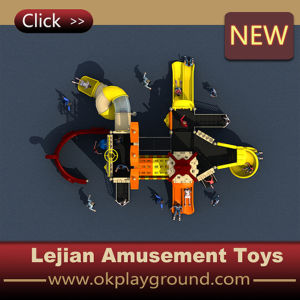 Children Favor World Outdoor Plastic Playground (X1510-1) pictures & photos