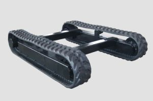 Complete Undercarriage with Rubber Belt for Mini Machine (PC60 PC120) pictures & photos