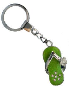 Metal Chain Keychain with Shiny Stones (JJ10-K060)