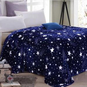 100% Polyester Cheap Fleece Blanket pictures & photos