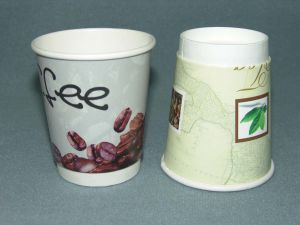 Double Wall Paper Cups Cold Cup pictures & photos