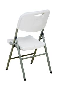 White Outdoor Plastic Folding Chair (SY-52Y) pictures & photos