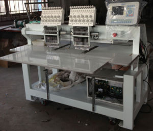 2 Heads, 9 Colors Embroidery Machine (FC-902X)