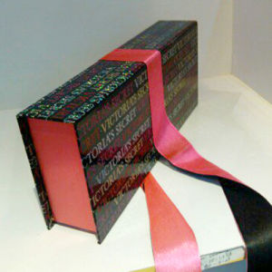 Customizable Paper Gift Box with Lanyard Trim (PBX36)