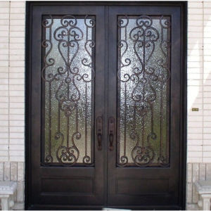 Square Top Iron Double Door (UID-D060) pictures & photos