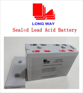 2V Series Storage Battery for Solar and PV System 2V1000ah pictures & photos