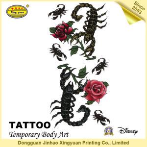 Fashion New Style 2016 Body Metallic Flash Tattoo Sticker (JHXY-TT0018)