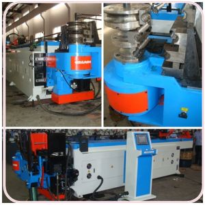 CNC Pipe Bending Machines for Round and Rectangular Pipe Bending (GM-SB-76CNC) pictures & photos