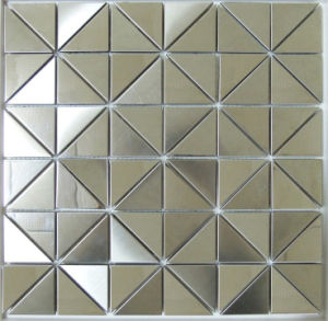 Triangle Stainless Steel Metal Mosaic Tile (SM265) pictures & photos