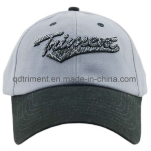 Brushed Cotton Twill 3D Embroidery Sport Baseball Cap (TMB8170) pictures & photos
