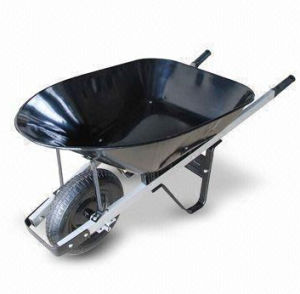 Wheelbarrow with Pb-Free/UV-Resistant Powder-Coated Tray