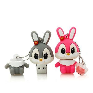 Promotion Gadget Rabbit PVC USB Memory Stick for Promotion pictures & photos