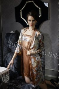 Pure Silk Night Gowns Set