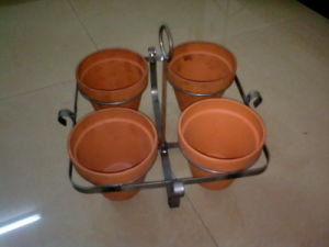 Movable Flowers Pot Stands for Indoor and Outdoor Use pictures & photos