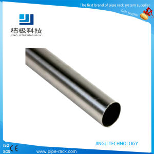 High Glossy Stainless Pipe Steel Pipe 28mm 0.8mm / 1.0mm Thickness (HJ-4000)