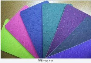 TPE Yoga Mat pictures & photos