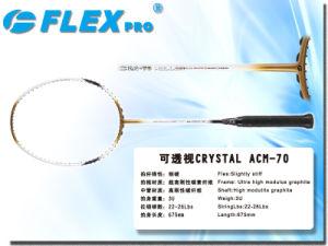 Badminton Racket CRYSTAL ACM-70