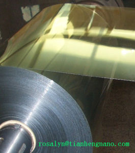 Printed Metallized PVC Film for Packing Material pictures & photos