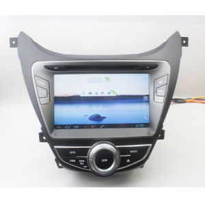 Special Car Stereo DVD Player with Android4.0 GPS Navigation for Hyundai 2012 Elantra (EW713)