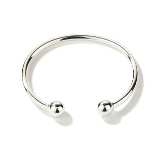 Sterling Silver Bangles Girls Torque Bangle Jewelry pictures & photos
