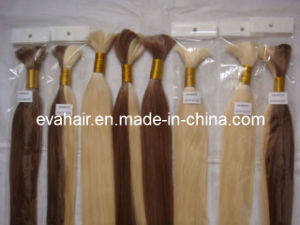 100% Chinese Natural Virgin Remy Human Hair Bulk pictures & photos