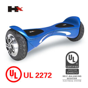 Hx UL2272 Approved Two-Wheel Smart Self-Balance Electric Scooter Stand-up Hoverboard pictures & photos